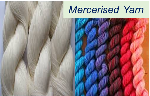 Mercerized Yarns